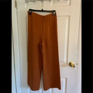 MNG  Brown suit pants